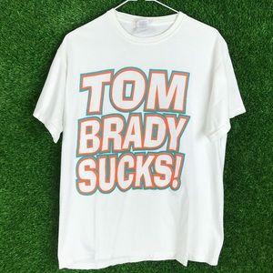 Miami Dolphins Fan Shirt Tom Brady Belichick NFL